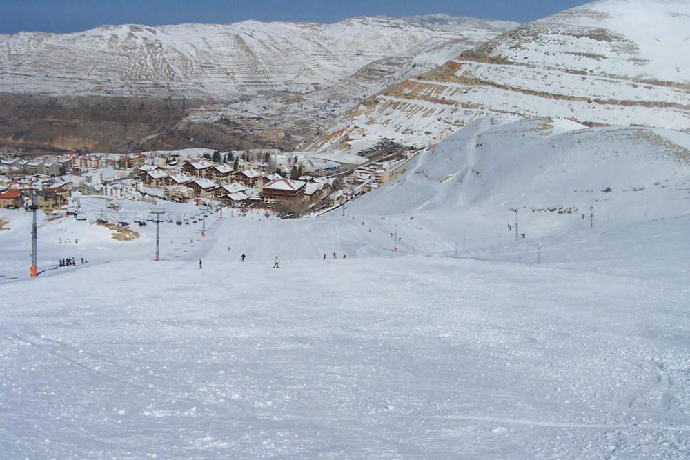 ski vakantie libanon